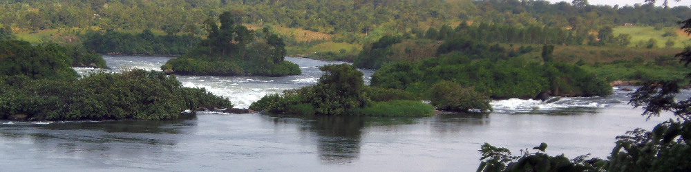The Nile at Jinja, Uganda